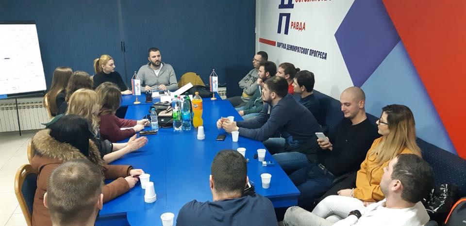 Одржан састанак младих ПДП Брчко