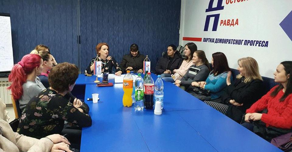 Одржан састанак Форума жена ПДП Брчко