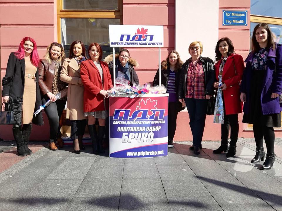 Активности Форума жена ПДП-а Брчко поводом обиљежавања 8. марта Дана жена